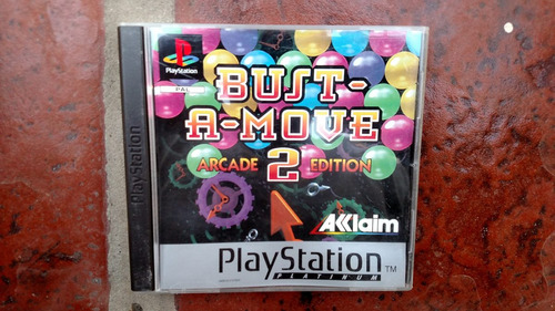 bust a move 2 ae orig europeo para ps1 (ps2 y ps3). kuy