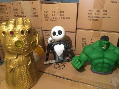 bust bank - busto alcancia de el increible hulk