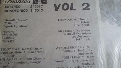 buster poindexter lp vinilo soca calypso reggae africano
