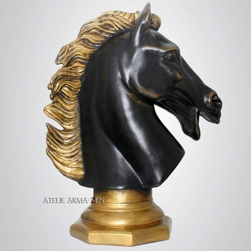 busto cavalo de petit bronze - peti bronze