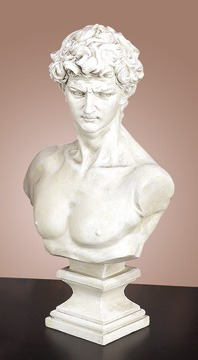 busto davi de petit bronze peti cod 106 r 860 00 em mercado livre