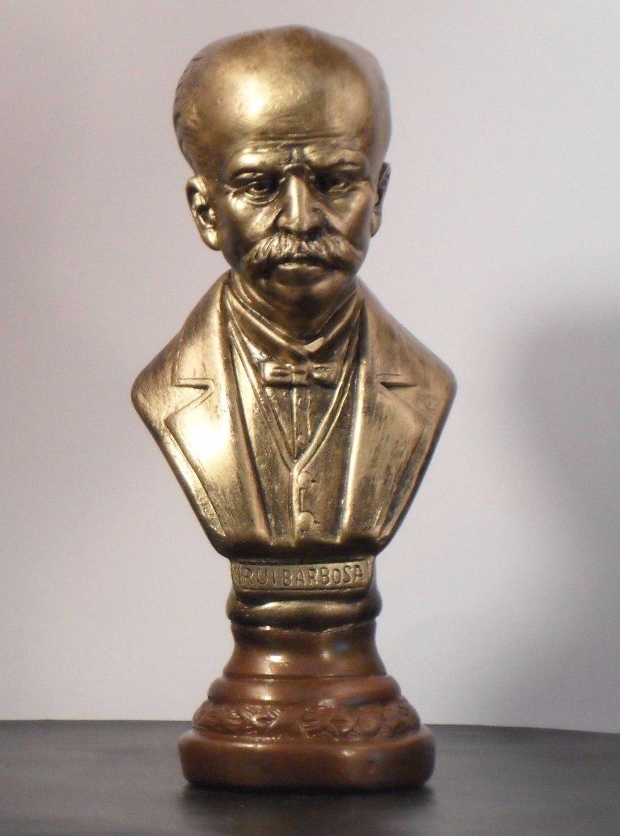 busto de rui barbosa textura bronze c frete r 95 00 em mercado livre