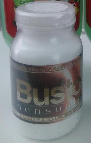 busto sensuale 2 frascos aumentar tamaño firmeza tonicidad