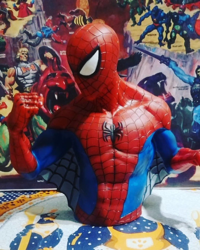 busto spider man marvel (alcancia sin tapa)