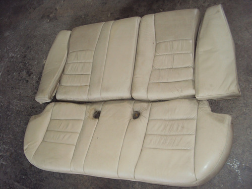 butaca asiento trasero chery orinoco de cuero
