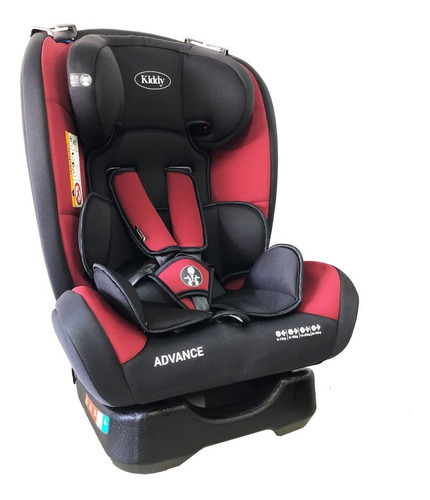 butaca auto bebe kiddy advance 0 a 36 kg babymovil nueva!