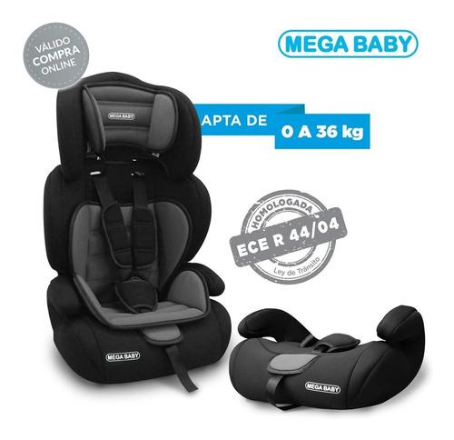 butaca booster mega baby auto bebe 3en1 mega baby 9 a 36 kg