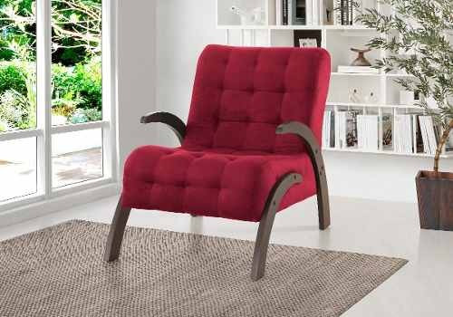 butaca living sillon 1 cuerpo sofa flower bordo
