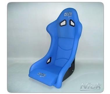 butaca nick de competición modelo carrera iv azul mediana m