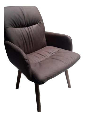 butaca para living sillón poltrona sorrento tostado. strada