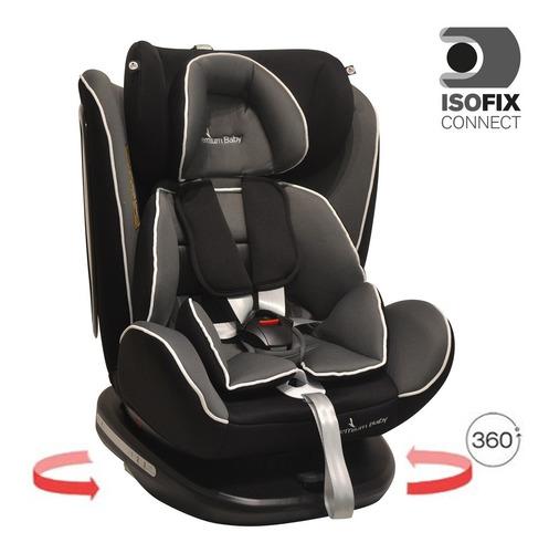 butaca silla bebés gira 360º  homologada de 0 a 36 kg latch cinto trasero de sujeción