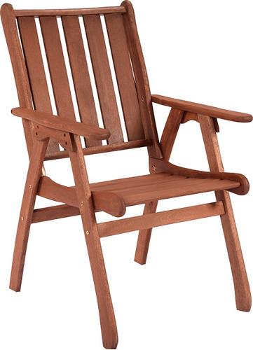 butaca silla de jardin madera exteriores divino