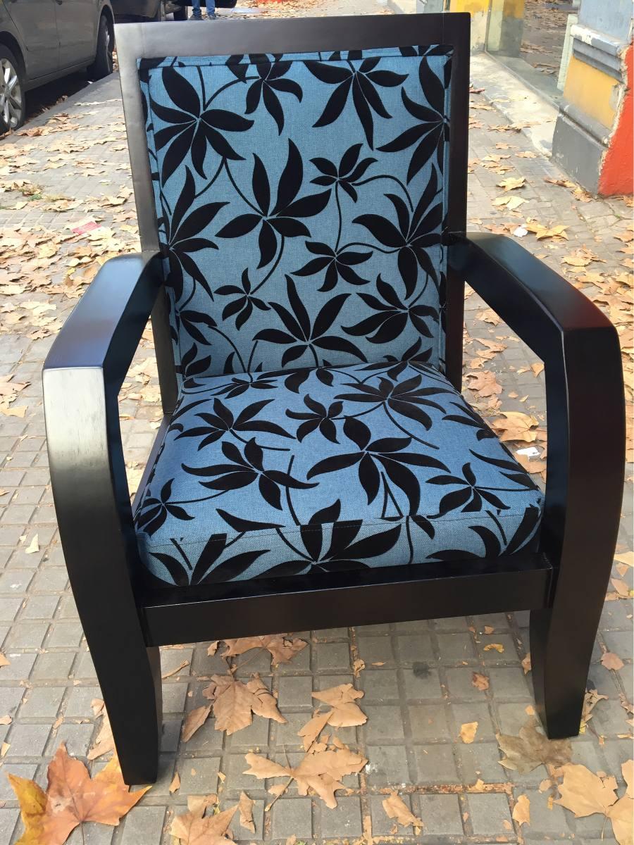Butaca silla poltrona juego de living serra for Amoblamientos living
