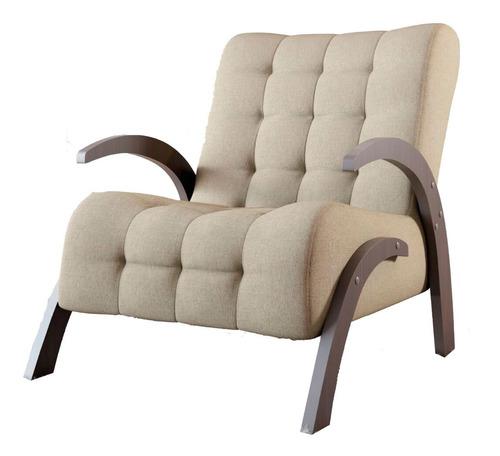 butacas sillon sofa 1 cuerpo living comedor flower lino