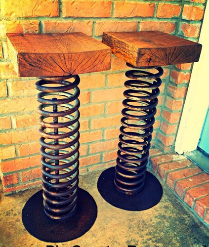 butaco  butaca silla banca rustica industrial