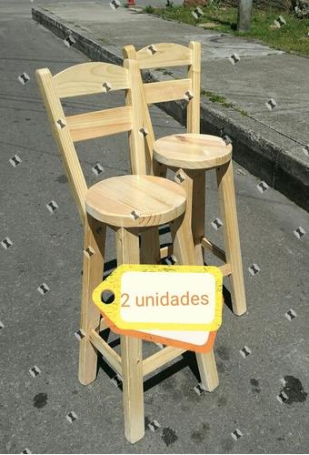 butacon silla alta barra nuevas