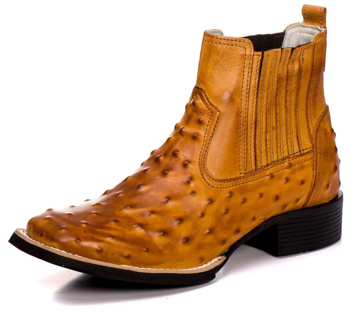 581dc5d303 butina bota country feminina couro legítimo estampa avestruz. Carregando  zoom.