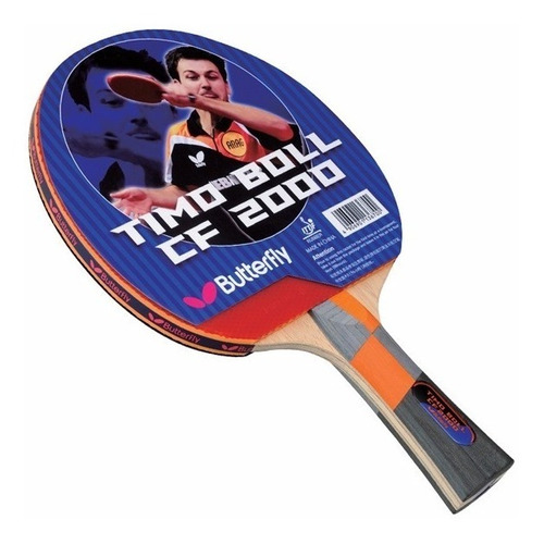 butterfly raqueta timo boll cf2000 ping pong - tenis de mesa