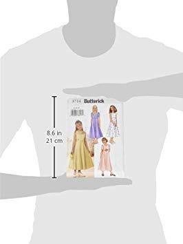 b82289a38 Butterick Patterns B3714 Girls  Dress