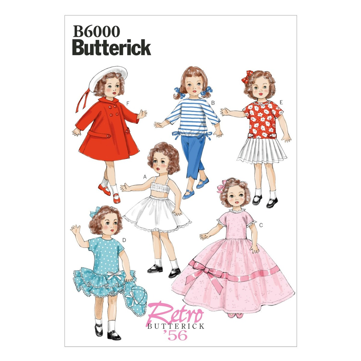 Butterick Patterns B6000osz Plantilla De Costura De Ropa Par ...