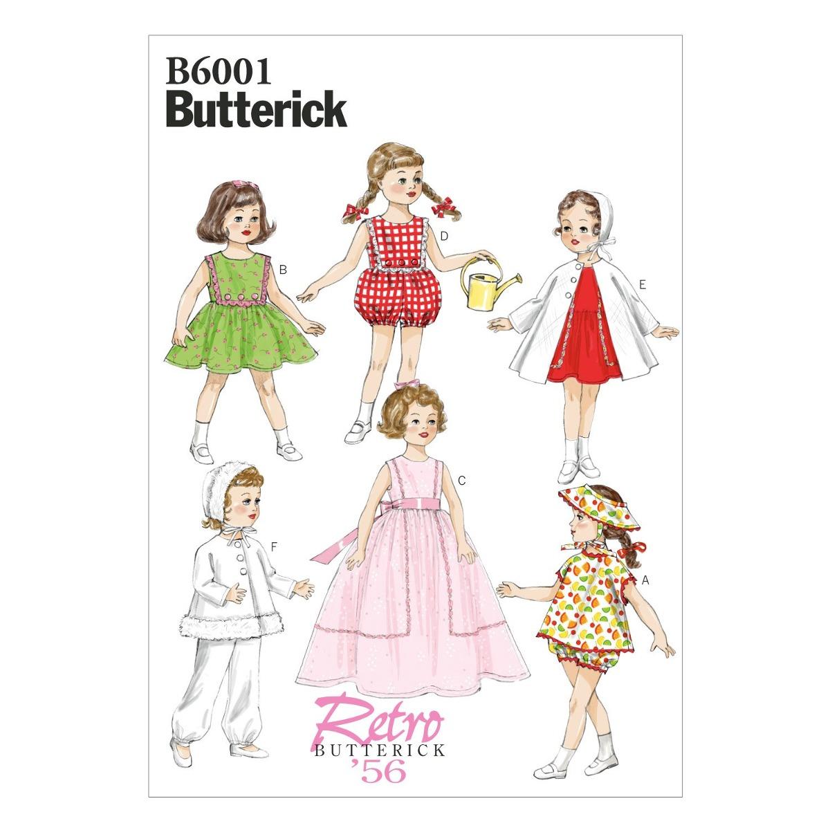 Butterick Patterns B6001osz Plantilla De Costura De Ropa Par ...