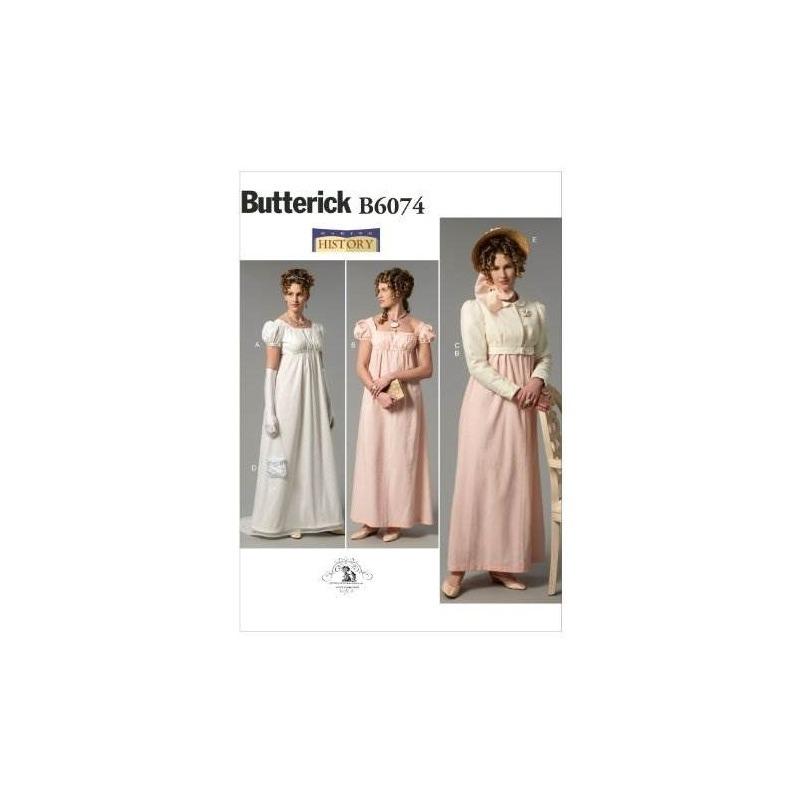 Butterick Patterns B6074 Misses Vestido, Chaqueta, Bolso Y P ...