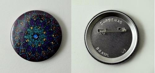 button alfinete (600 unidades) 25mm
