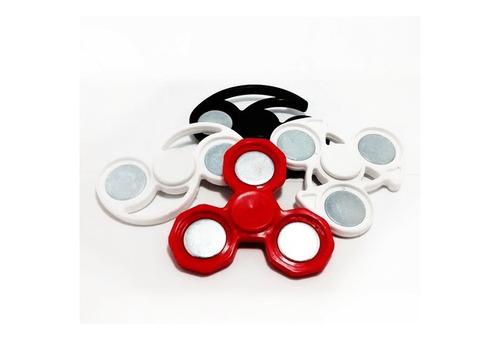 button spinner 25mm 25 peças + kit button 25mm