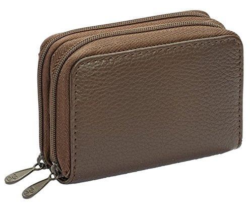 buxton asistente cartera para las mujeres (marrón)