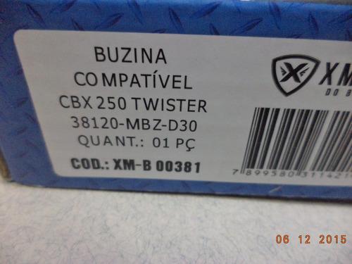buzina 12 volts honda cbx 250 twister