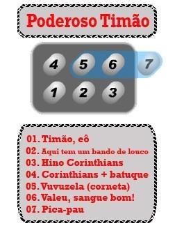 6a357ffc24975 Buzina Falante Timão Corinthians Carro Moto 7 Sons - R  120