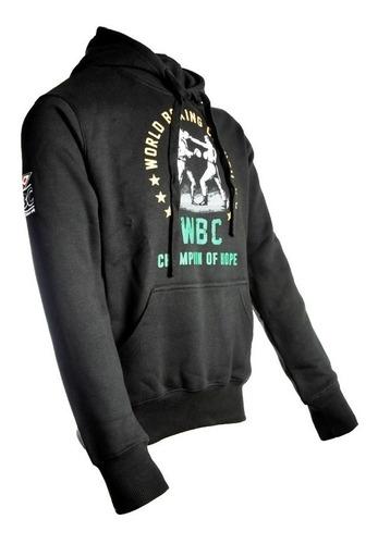 buzo adidas boxeo entrenamiento canguro capucha algodon