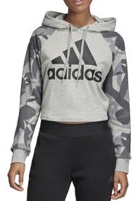 nuevo estilo f1b43 59b56 Buzo Anorak Adidas - Ropa Deportiva de Mujer Gris oscuro en ...