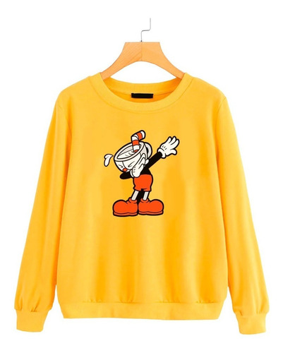buzo buso sweater saco mujer cuphead dab videojuego gamer