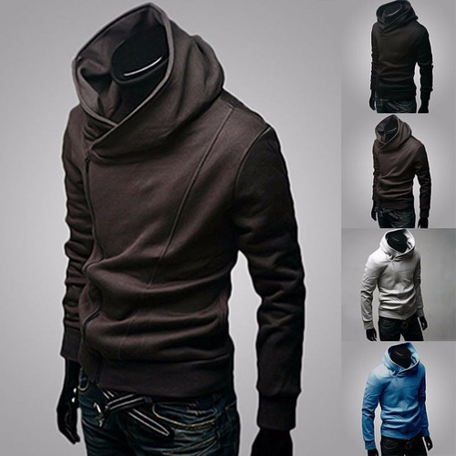 buzo café fashion jacket con capucha  assassins creed cool