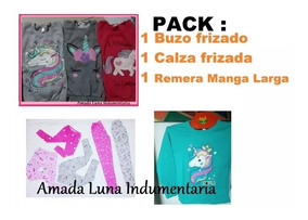 d2d85093f Buzo Calza Remera Manga Larga Pack Kit Combo Por Mayor Nena
