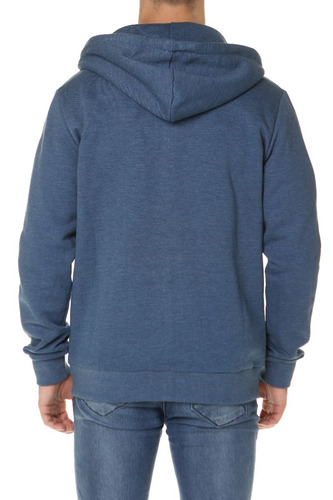 buzo campera billabong all day zip hood azul hombre