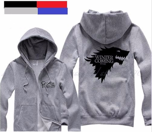 buzo campera canguro game of thrones, adidas puma