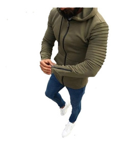 Everlast Hombre Plush Fleece Zipped Sudadera Con Capucha Deportiva Casual