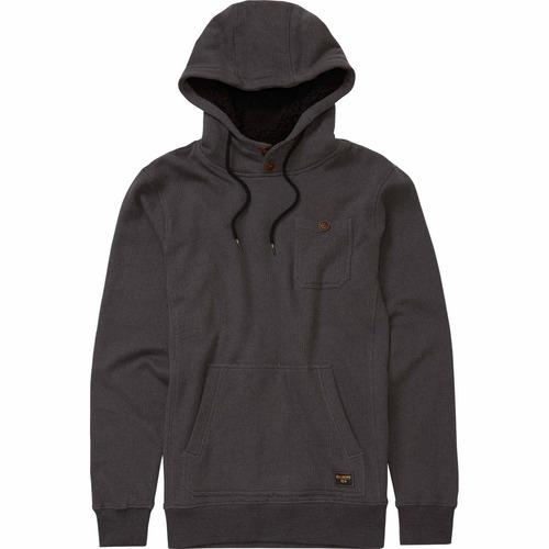 buzo canguro billabong hudson pullover hoody gris hombre