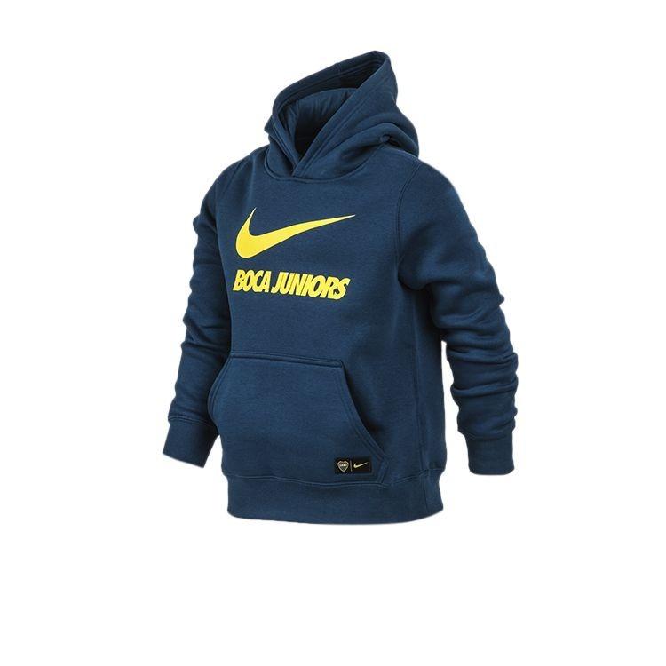 Buzo Canguro Nike Boca Juniors 2019 Niños Originales! 0e6a94e58fc