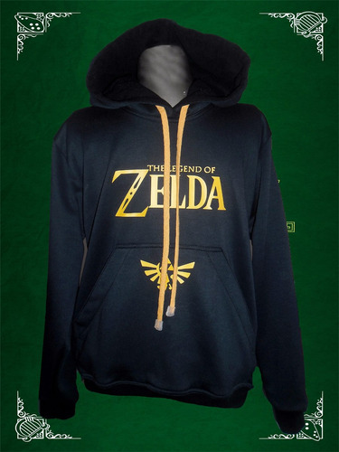 buzo capota hoodie gamers zelda adulto envio gratis