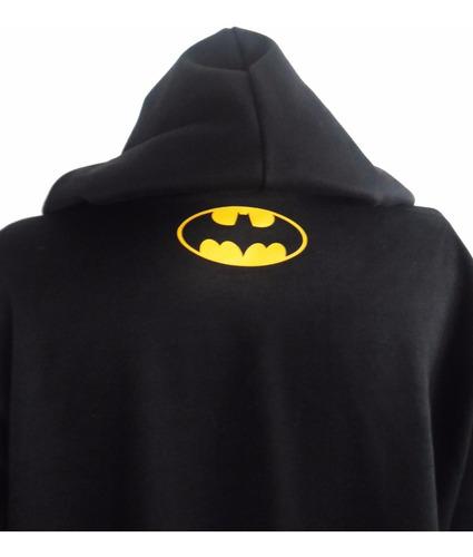 buzo capota hoodie super heroes batman adulto