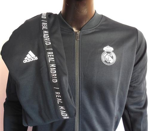 buzo casaca real madrid conjunto adidas