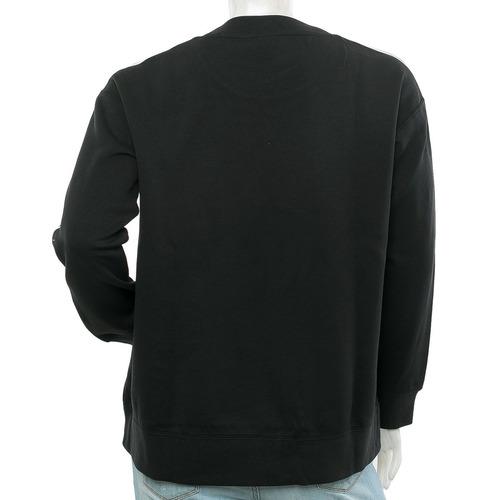 buzo crew negro/blanco adidas blast tienda oficial