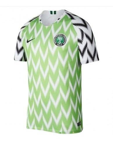 buzo d futbol nike selección nigeria 2 mundial 2018 a pedido
