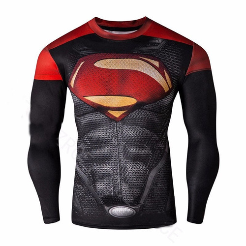 buzo de compresion de superman, buzo de spiderman