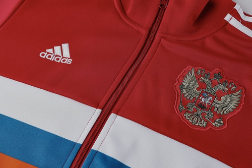 buzo deportivo adidas selección rusia mundial 2018 a pedido