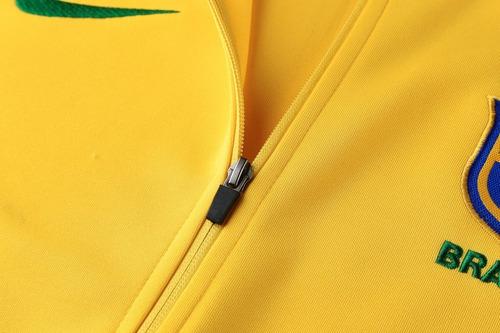 buzo deportivo nike brasil mundial rusia 2018 a pedido