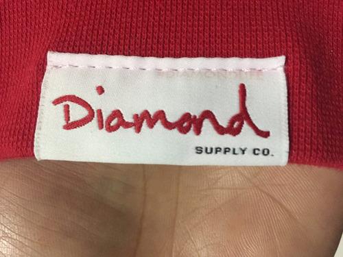 buzo diamond supply co. original talla m